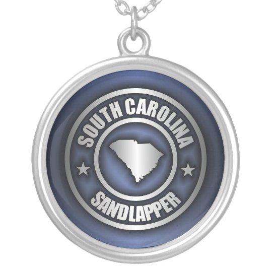 """South Carolina Steel"" Necklaces (Blue)"
