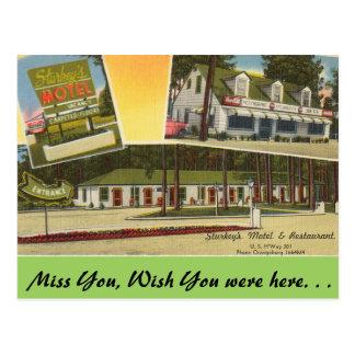 South Carolina, Sturkey's Motel, Orangeburg Postcard
