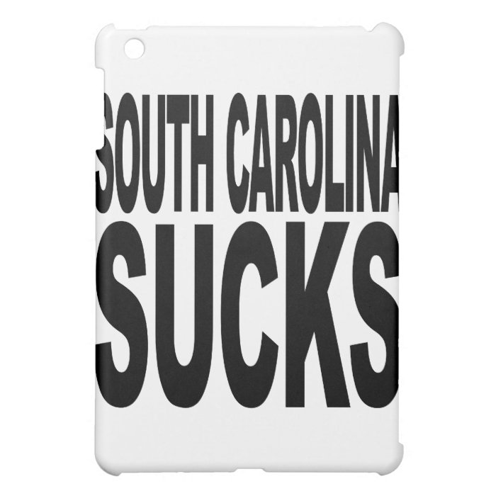 South Carolina Sucks iPad Mini Case