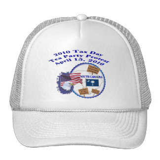 South Carolina Tax Day Tea Party Protest Mesh Hat