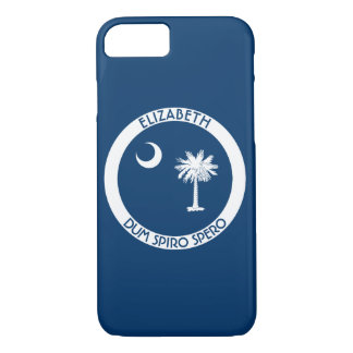 South Carolina The Palmetto State Personal Flag iPhone 8/7 Case