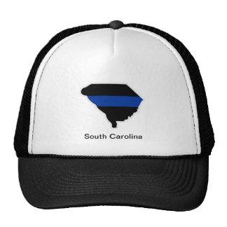 South Carolina Thin Blue Line Trucker Hat