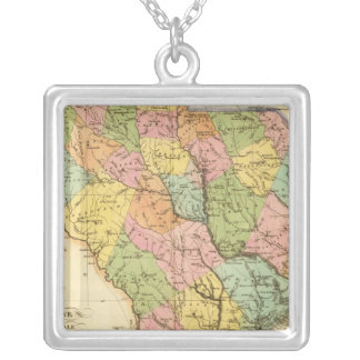 South Carolina US Silver Plated Necklace