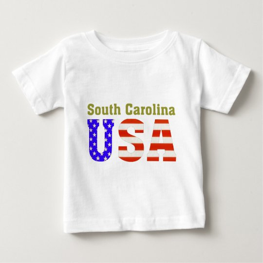 South Carolina USA! Baby T-Shirt