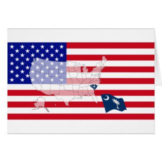South Carolina, USA Card