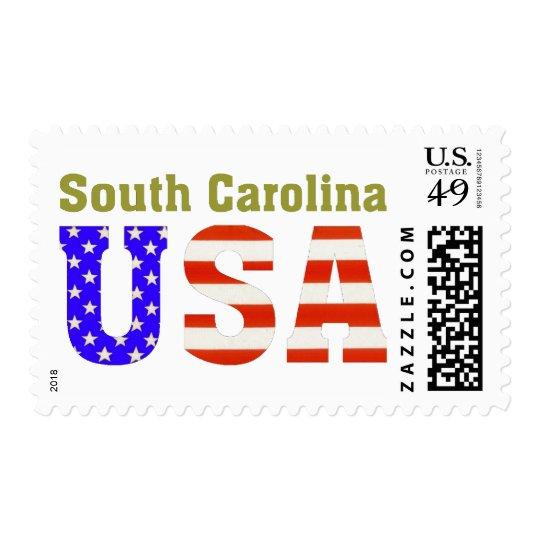 South Carolina USA! Postage