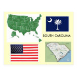 South Carolina, USA Postcard