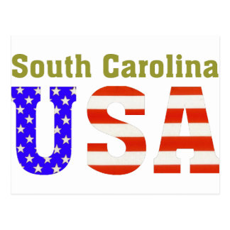 South Carolina USA! Postcard