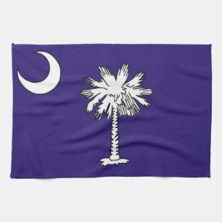 south carolina usa state flag towel
