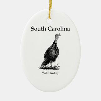 South Carolina (wild turkey) Ornaments
