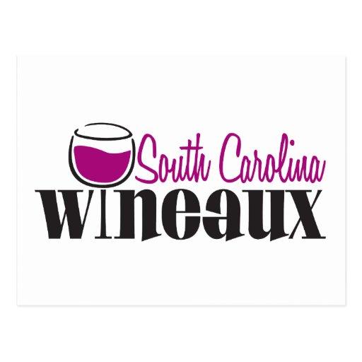 South Carolina Wineaux Post Card