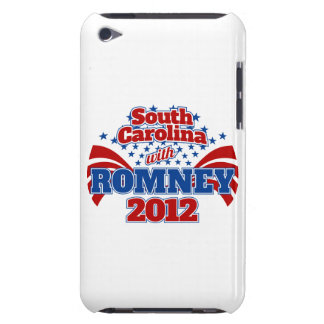 South Carolina with Romney 2012 Barely There iPod Case