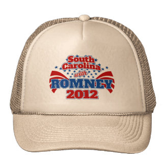 South Carolina with Romney 2012 Trucker Hat