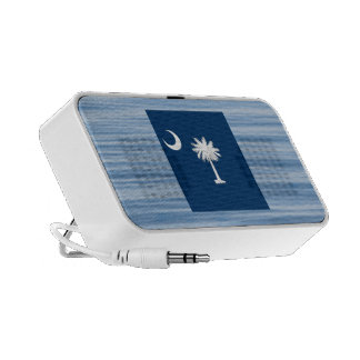 South Carolinian Flag Floating on water iPhone Speaker