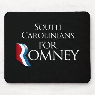 South Carolinians for Romney -.png Mouse Pad