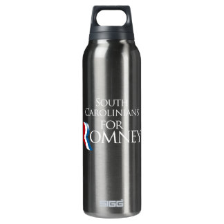South Carolinians for Romney -.png 16 Oz Insulated SIGG Thermos Water Bottle