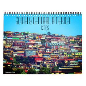 south central america cities 2021 calendar