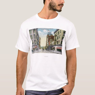 South Centre Street View of Hotel Mohawk T-Shirt