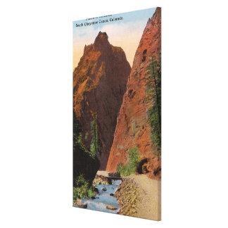 South Cheyenne Canyon Canvas Print