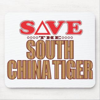 South China Tiger Save Mouse Pad