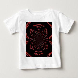 South City Black n Red Vortex Baby T-Shirt
