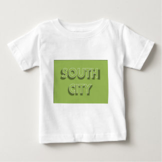 South City in Green Baby T-Shirt