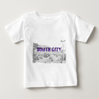 South City - The Mountain Background Sketch Baby T-Shirt