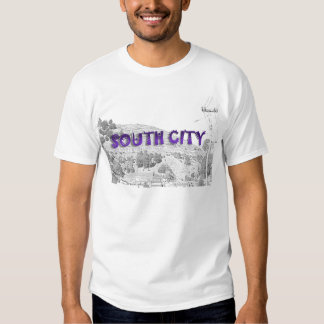 South City - The Mountain Background Sketch Shirt