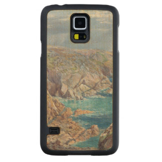 South Coast of Guernsey from the Cribiere, 1862 (w Carved® Maple Galaxy S5 Case