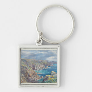 South Coast of Guernsey from the Cribiere, 1862 (w Key Chain