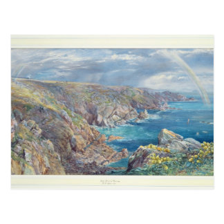 South Coast of Guernsey from the Cribiere, 1862 (w Postcard