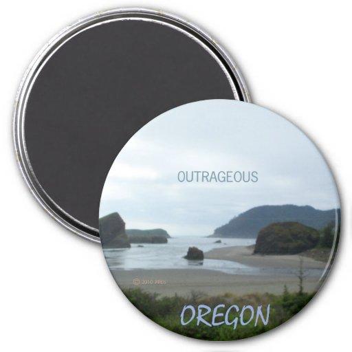 south coastal Oregon  motif   magnet