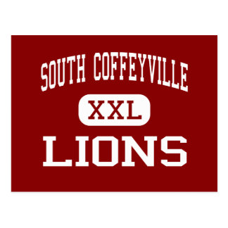 South Coffeyville - Lions - South Coffeyville Postcard