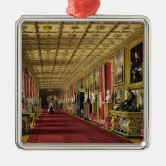 South Corridor, Windsor Castle, 1838 (chromolitho) Christmas Tree Ornaments