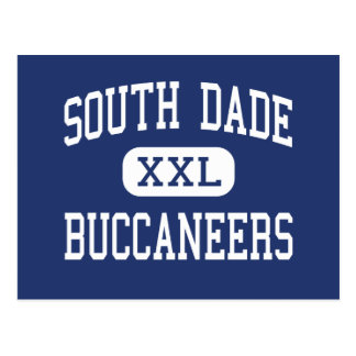 South Dade - Buccaneers - High - Homestead Florida Postcard