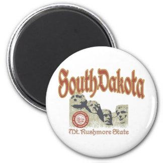 South Dakota 2 Inch Round Magnet