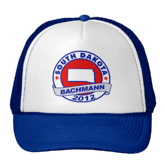 South Dakota Bachmann Trucker Hats
