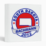 South Dakota Bachmann Vinyl Binder