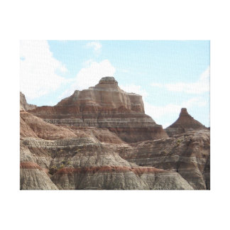 South Dakota Badlands Canvas Print