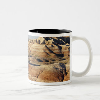 South Dakota, Badlands National Park, Badlands Two-Tone Coffee Mug