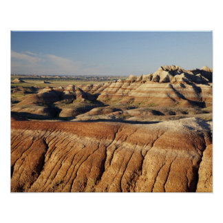 South Dakota, Badlands National Park, Badlands Poster