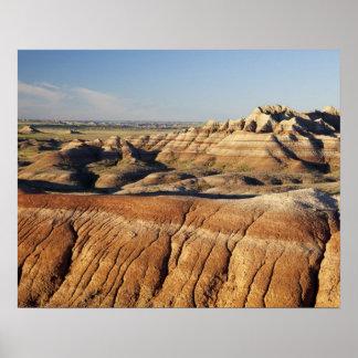 South Dakota Badlands National Park Badlands Poster