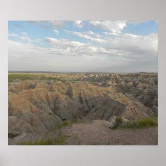 South Dakota Badlands Poster
