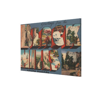 South Dakota - Black Hills - Mt. Rushmore Canvas Print