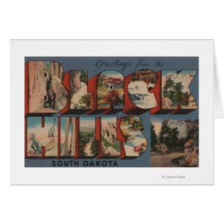 South Dakota - Black Hills - Mt. Rushmore Card