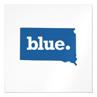 SOUTH DAKOTA BLUE STATE MAGNETIC CARD