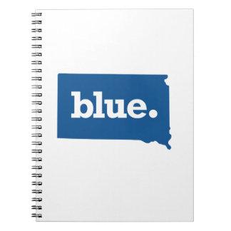 SOUTH DAKOTA BLUE STATE NOTEBOOK