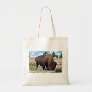 South Dakota Buffalo Budget Tote Bag