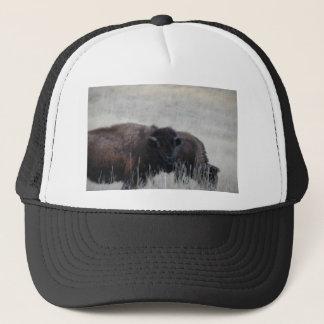 South Dakota Buffalo Nature Picture Trucker Hat