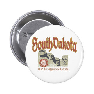 South Dakota Button
